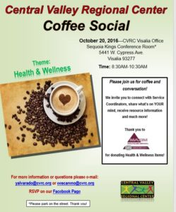 Coffee Social @ Visalia CVRC | Fresno | California | United States